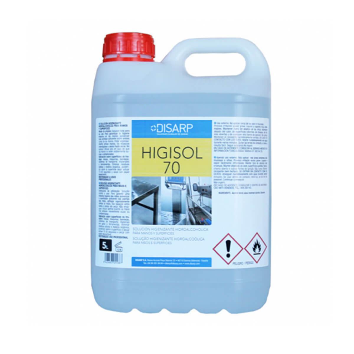 Gel higisol 70 5 litros